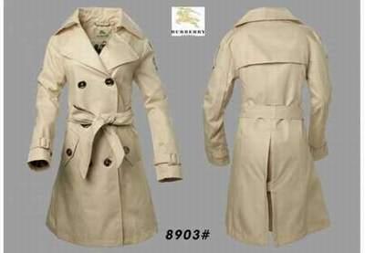 146dabd1f67cb Avec veste Femme Capuche Trench Burberry Rouge Homme fwFa7F5qR1